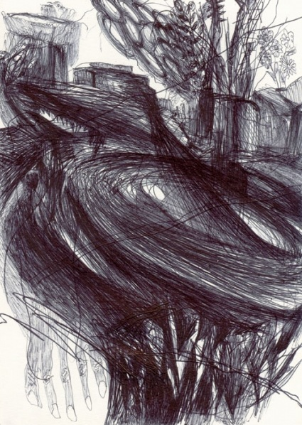 Christian Moeller, Berlin art, contemporary drawing